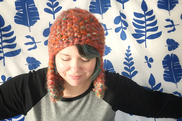 Knit Earflap Hat