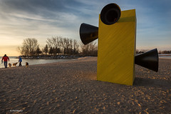 The Winter Stations at Woodbine Beach