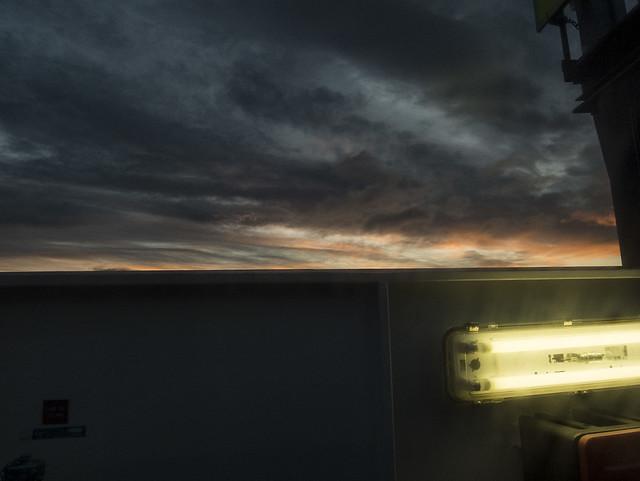 Light on the Ferry, Fujifilm XF1