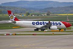 Edelweiss Air Airbus A330-343 HB-JHR