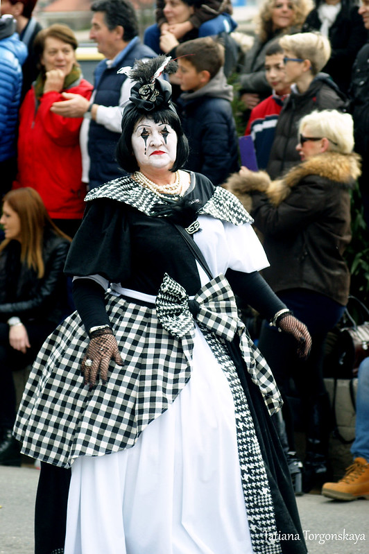 Мим на Которском карнавале