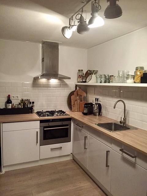 Keuken licht landelijk