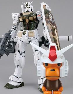 【最後入手機會】夢幻聯名!【A BATHING APE × GUNDAM】聯名推出迷彩版MG RX-78-2 VER. 3.0 & SD GUNDAM EX-STANDARD BABY MILO RX-78-2