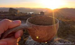 Evening tea @ sunset