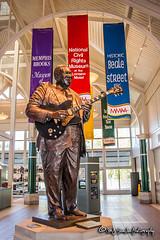 B.B. King Statue   Memphis, Tennessee