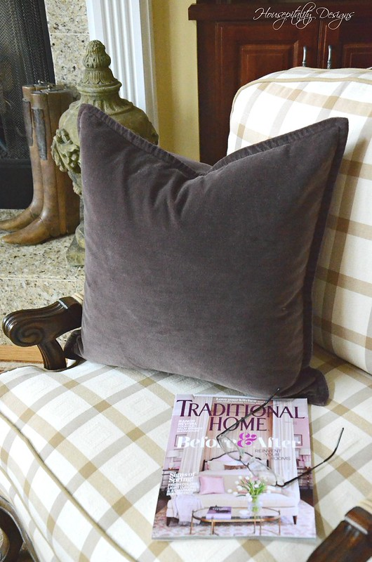 Plum Pillow-Housepitality Designs