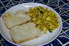 Tofu Scramble and Toast (Vegan) by Vegan Butterfly