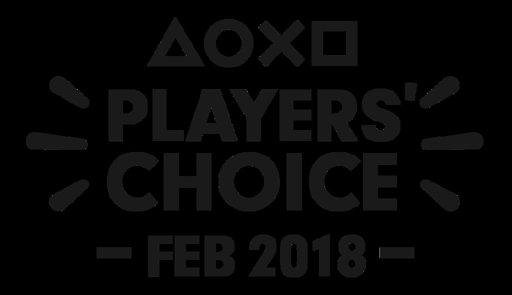Players' Choice Logo: February 2018