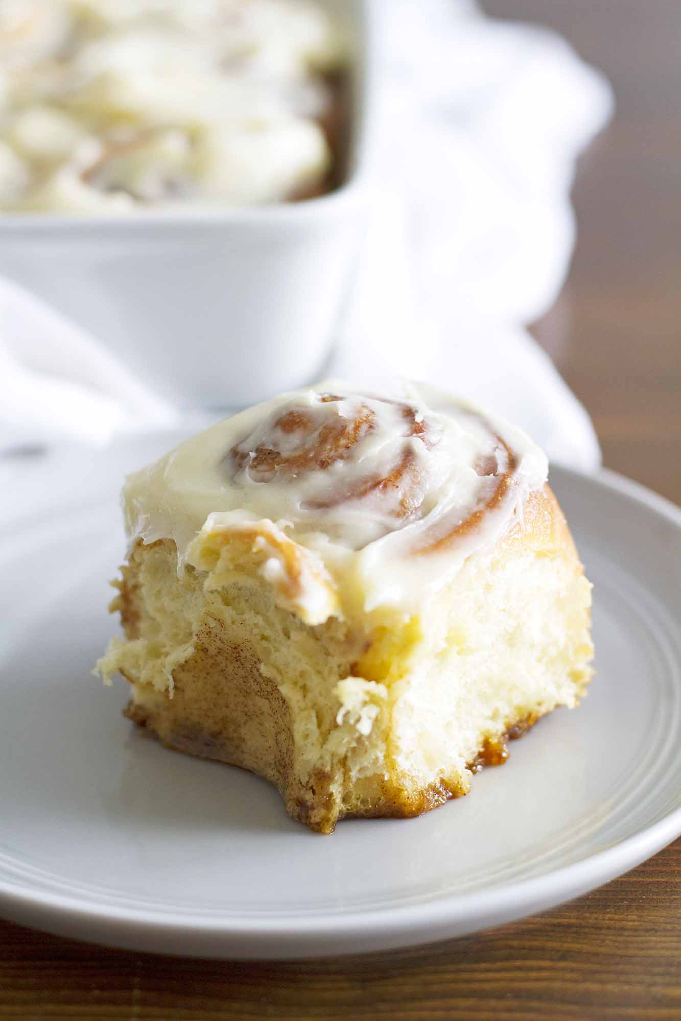 Overnight Cinnamon Rolls | girlversusdough.com @girlversusdough