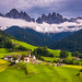 Val di Funes, Dolomites, Italy by DaLiu_