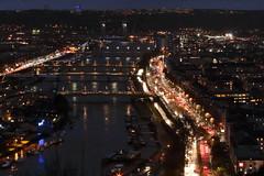 La Seine à Rouen le soir du 15 janvier à 18h. III - 2018