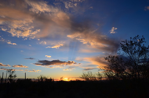 Tucson Gilbert Ray sunset