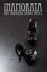 FOR SALE: Inamorata Art Nouveau Snake Heels