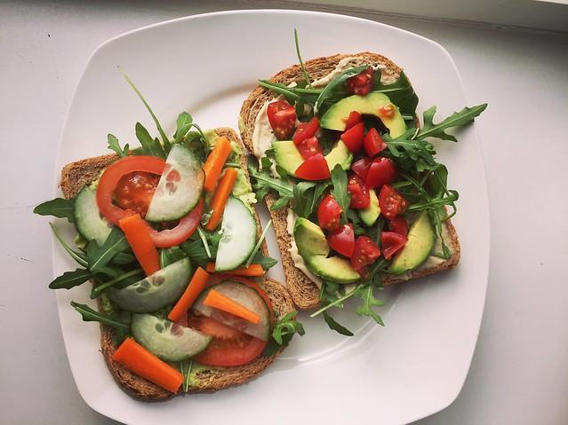 .veggie breakfast, yeah