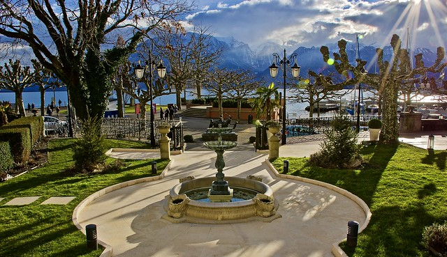 Lovely day in Vevey