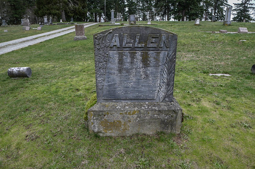 George Washington Lafayette Allen grave-001