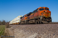 BNSF 6740 | GE ES44C4 | BNSF Birmingham Subdivision