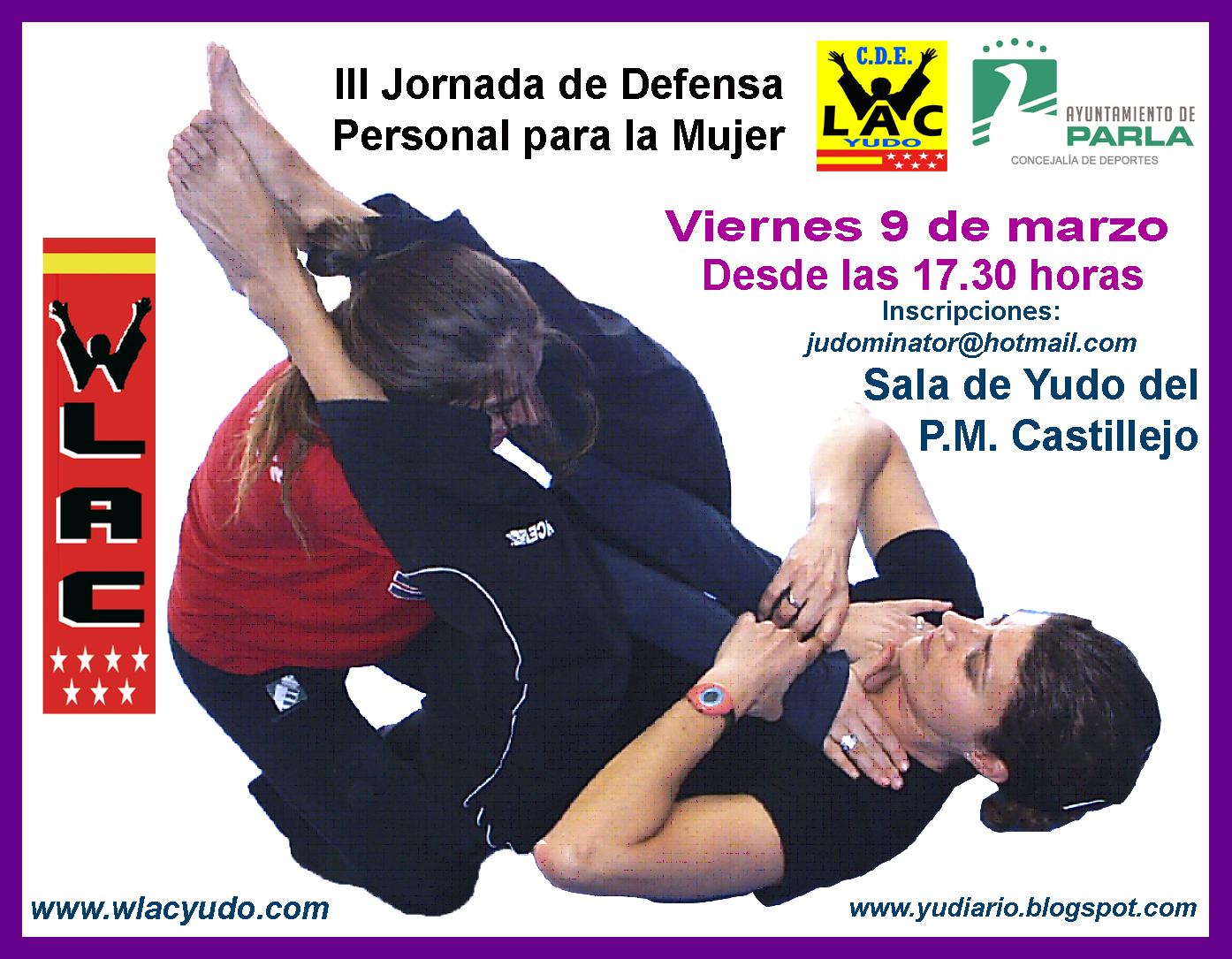 Cartel Defensa Personal para la Mujer