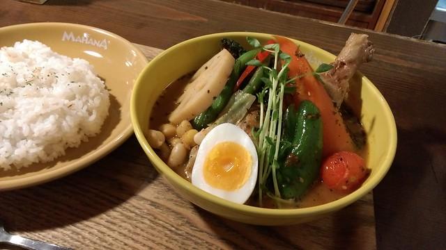 MAHANA ケイジャンスモーク チキン野菜