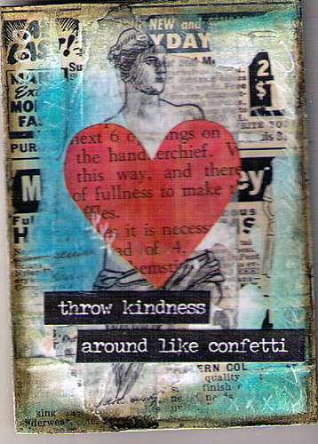 Mixed Media Hearts 5of5