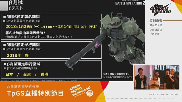 ガンダムバトルオペレーション2 βテスト