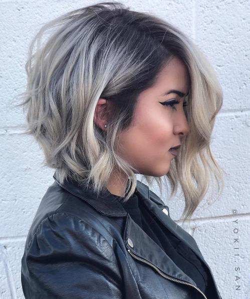 Short Hairstyles for Round Face 2018 For Teens