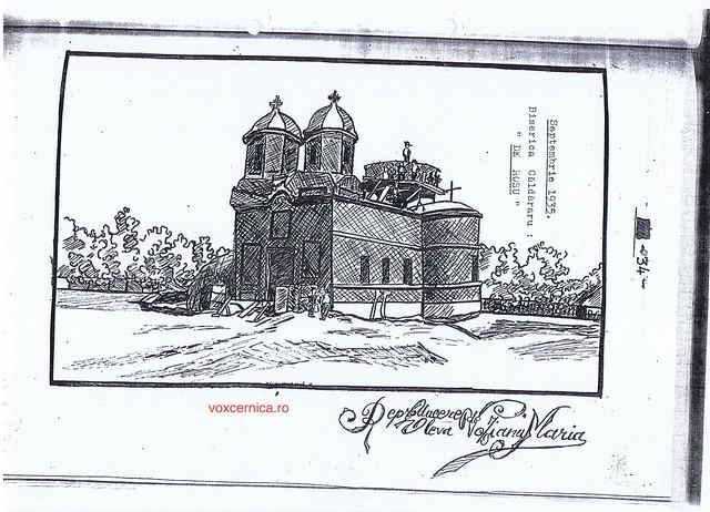 Monografia Bisericii din satul Caldararu