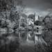 The River Avon at Bradford-on-Avon by Alan E Taylor