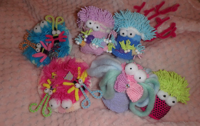 How to make plushie sea anemones and cerianthids