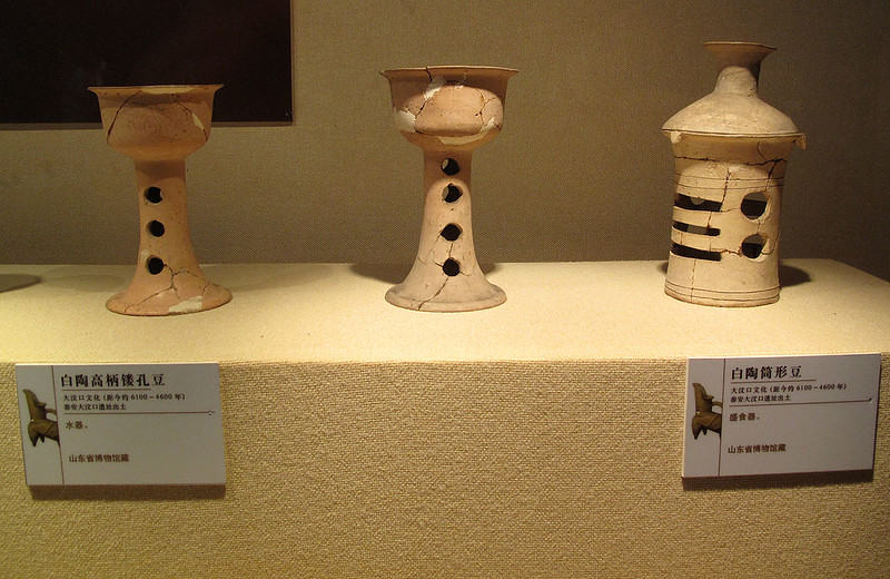 Stem Cups produced by Longshan culture in China