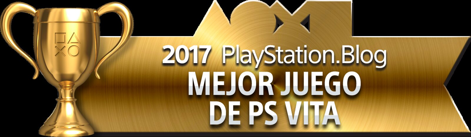 PlayStation Blog Game of the Year 2017 - Best PS Vita Game (Gold)