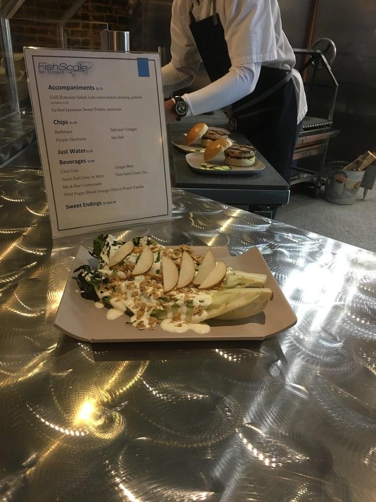 Fishscale Romaine Salad