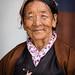 Faces of Bhutan: An older Bhutanese lady at National Memorial Chorten