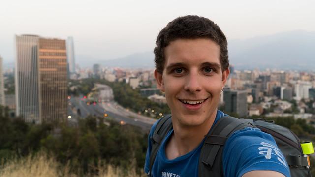Überblick über Santiago