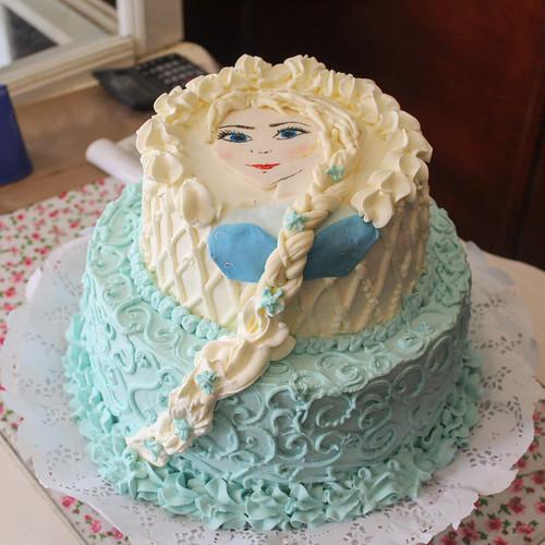 Torta tradicional con Fondant - Princesa