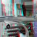 Aircraft in Windowshop Rotterdam 3D by wim hoppenbrouwers
