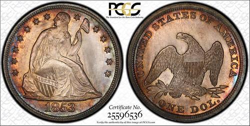 1853 Dollar