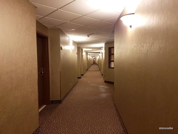 Comfort Inn & Suites Saint-Nicolas, Quebec hallway