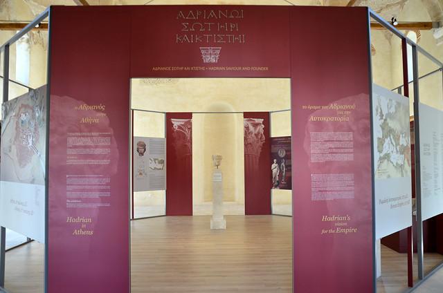 Exhibition: Hadrian Saviour and Founder, Fethiye Mosque Roman Agora, Athens