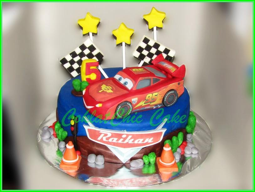 Cake Disney Cars - RAIHAN 18 cm