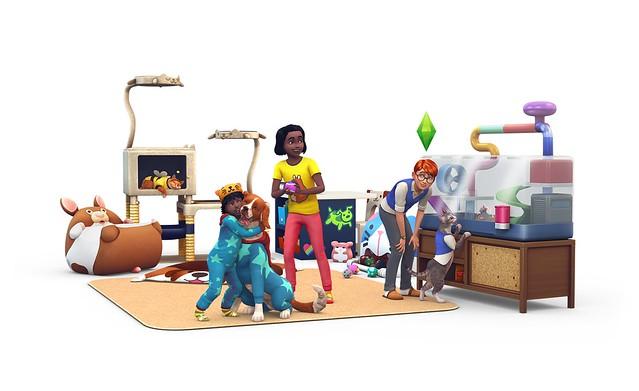 imagem e render do The Sims 4 Meu Primeiro Bichinho