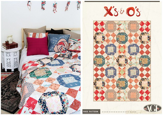 X's & O's Quilt Pattern