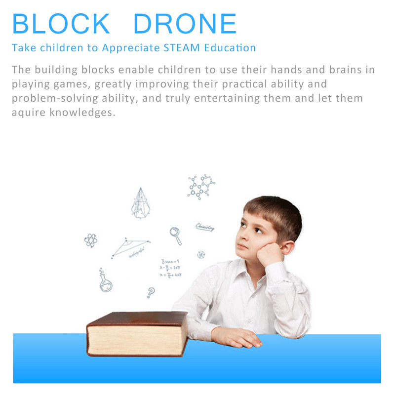 XG171 DIY Building Block Drone (8)
