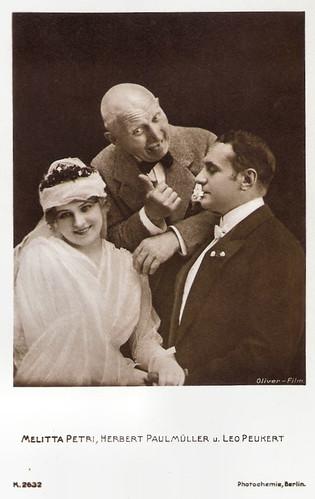 Leo Peukert, Melitta Petri and Herbert Paul Müller in Wer niemals einen Rausch gehabt (1918)