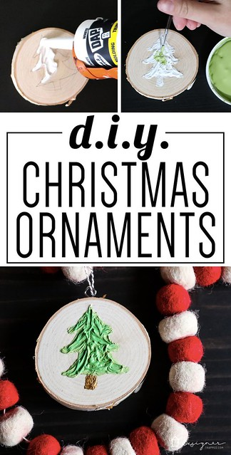 DIY Home Decor Ideas: If you've ever wondered how to make Christmas ornaments that are unique and ...