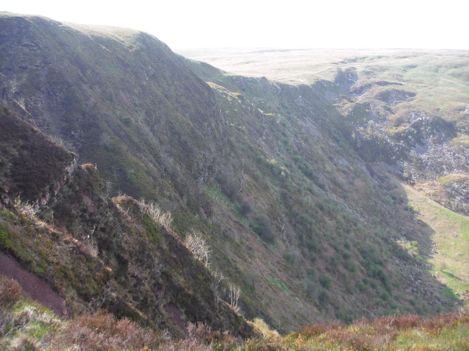Craig Cerrig-gleisiad SWC Walk 307 - Fforest Fawr Traverse (Craig y Nos to Llwyn-y-celyn)