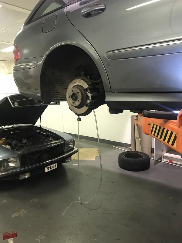 S211 rear suspension