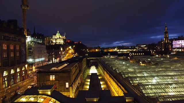 Edinburgh on Burns Night