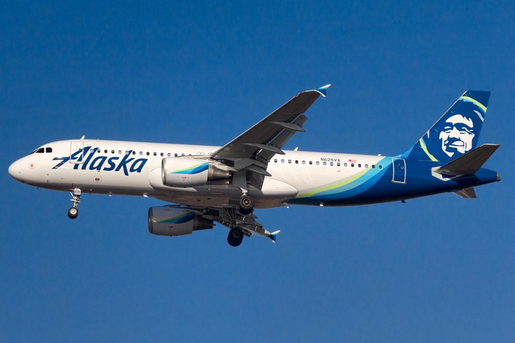 N625VA Alaska A320