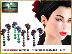 Bliensen - Rosegarden - Earrings